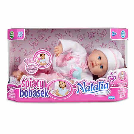 Lalka Natalia Śpiący Bobasek