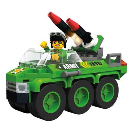 Klocki Blocki MyArmy Samochód Wojskowy 104el (1)