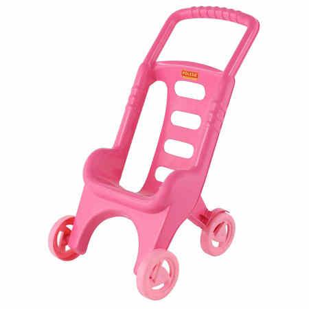Różowy wózek dla lalek dla dziecka