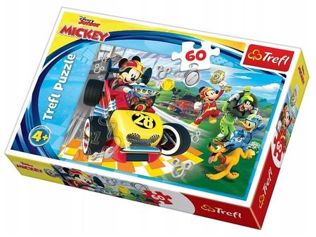 Trefl 17322 Puzzle 60 Myszka Miki Rajd Przyjaciele (1)
