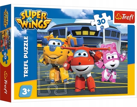 Trefl 18226 Puzzle 30 Samoloty Super Wings (1)