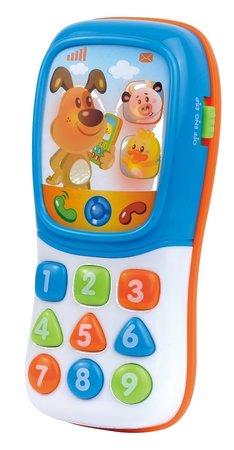 Dumel 42667 Interaktywny Telefon Zwierzątka PL/ENG (1)