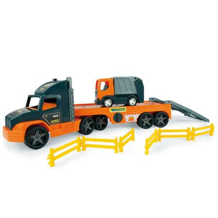 Wader 36730 Super Truck laweta ze Śmieciarką