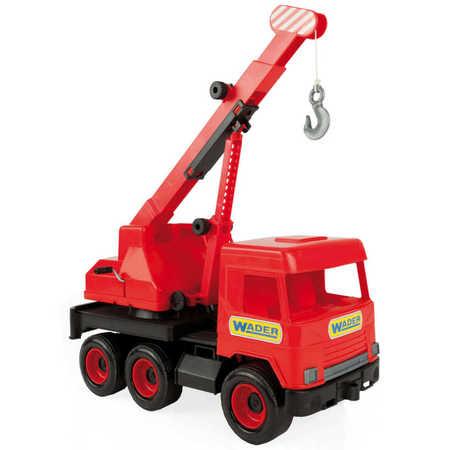 Wader 32112 Middle Truck Dźwig czerwony