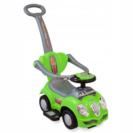 Baby Mix Pojazd z Dźwiękiem Zielony 2w1