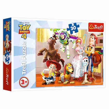 Trefl 18243 Puzzle 30 Toy Story Gotowi do Zabawy (1)