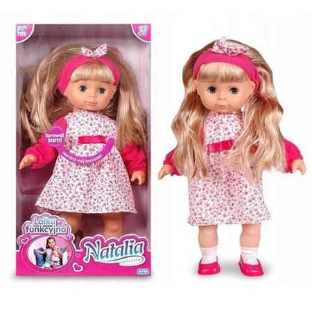 Lalka Natalia Bobas dla Dziewczynki