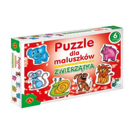 Alexander Puzzle dla Maluszka Zwierzątka 6 Wzorów (1)