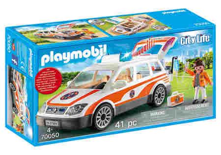 Playmobil 70050 Samochód Ratowniczy ze Światłem (1)