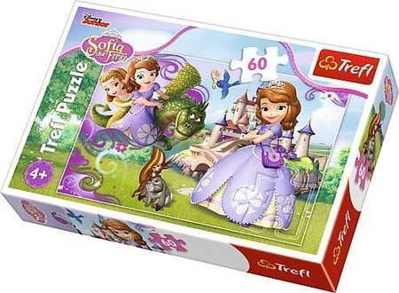 Trefl 17313 Puzzle 60 Przygody Księżniczki Zosi (1)