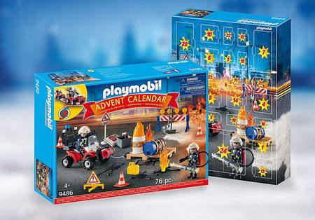 Playmobil 9486 Kalendarz Adwentowy Akcja Straży