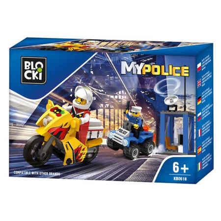 Klocki Blocki MyPolice Pościg Policyjny 87el (1)