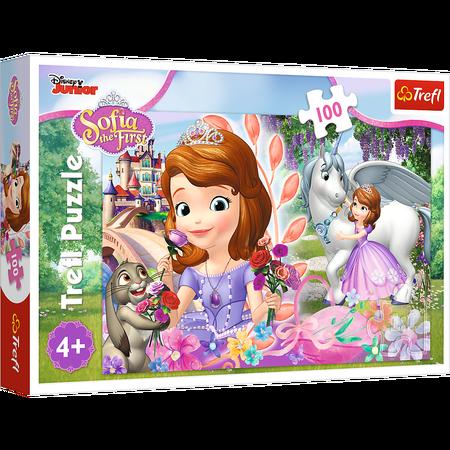 Trefl 16344 Puzzle 100 Jej Wysokość Zosia Sofia (1)