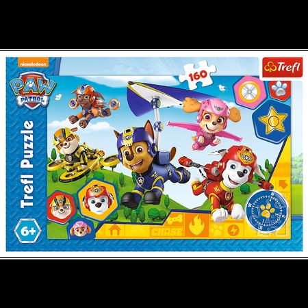 Trefl 15363 Puzzle 160 Psi Patrol Gotowi do Pomocy (1)