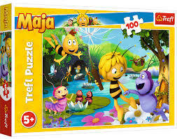 Trefl 16361 Puzzle 100 Pszczółka Maja (1)