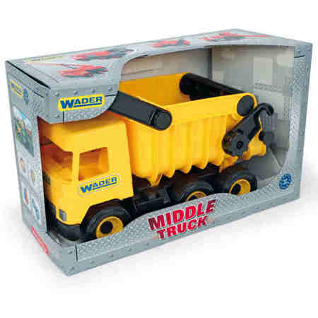 Wader 32121 Middle Truck Wywrotka żółta