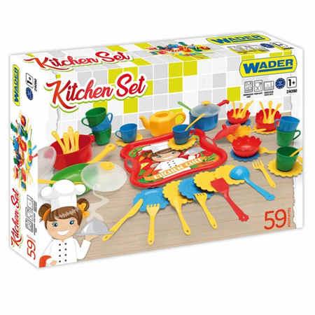 Wader Zestaw kuchenny dla dziecka w kartonie