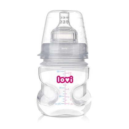 LOVI 0120 Butelka 150ml MEDICAL+ Smoczek 0-3m (1)