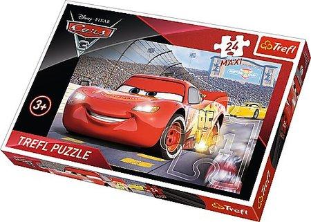 TREFL PUZZLE 24 MAXI AUTA - ZYGZAK MCQUEEN