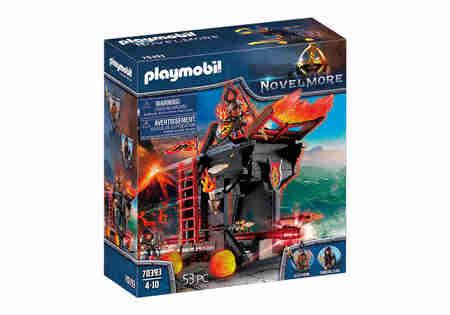 Playmobil 70393 Ognisty Taran Wojowników z Burnham (1)