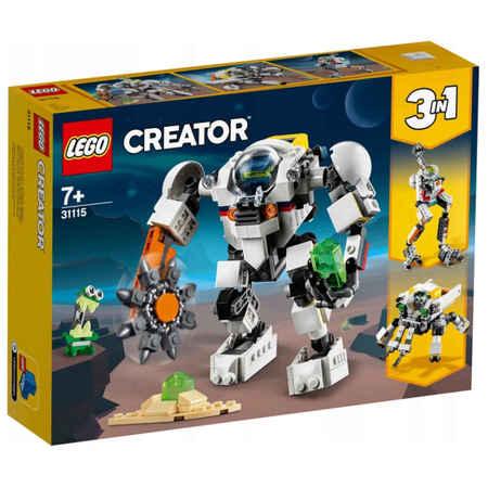 Klocki Lego Creator 31115 Kosmiczny Robot Górniczy 3w1 (1)