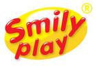 Logo Smily Play  na żółtym tle
