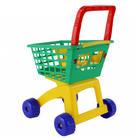 Dla dziecka wózek marketowy