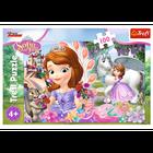Trefl 16344 Puzzle 100 Jej Wysokość Zosia Sofia (2)