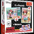 TREFL PUZZLE 2w1 + MEMOS - HOBBY MINNIE