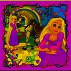 Trefl 34842 Puzzle 3w1 Roszpunka Aurora Arielka (2)