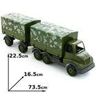 Zabawka Polesie Samochód wojskowy z wymiary