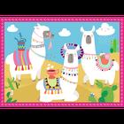 Trefl 34322 Puzzle 4w1 Lamy Na Wakacjach (4)