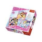 Trefl 34833 Puzzle 3w1 Księżniczki Disney (1)