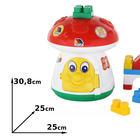 Polesie Zabawki Grzybek z klockami z wymiarami